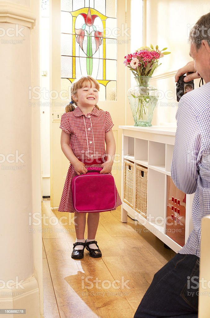 first day of school royalty-free stock photo