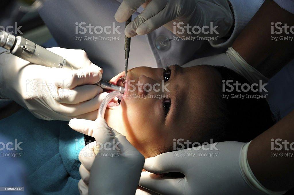 First Dental Visit stock photo