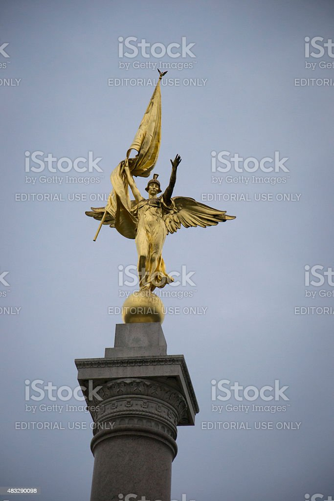 First Division Monument in Washington D.C. stock photo