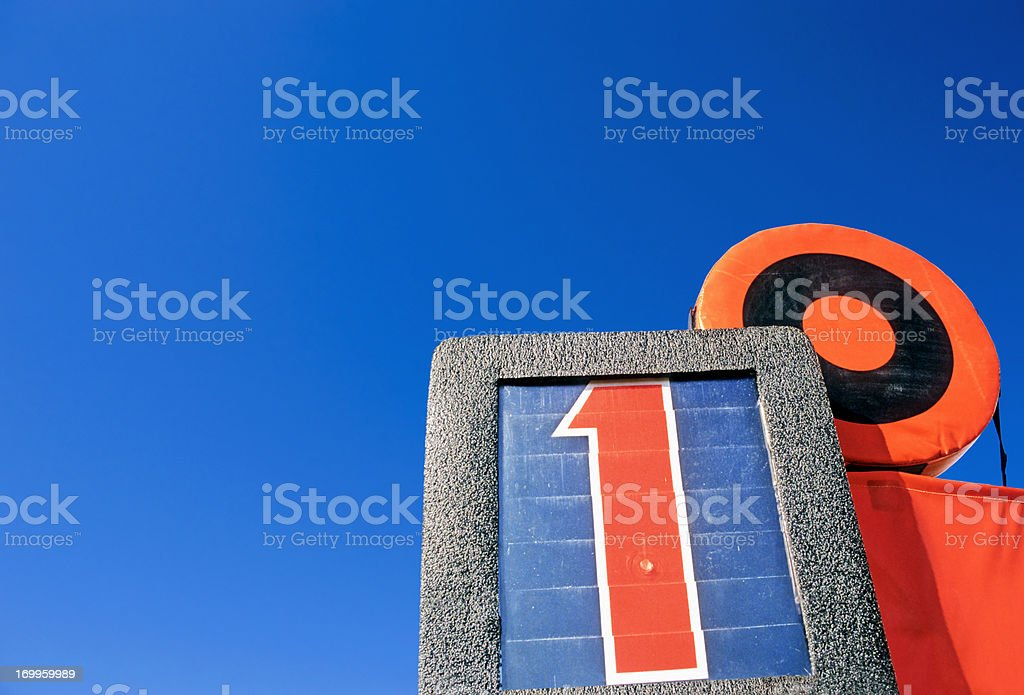 First Down - American Football royalty-free stock photo