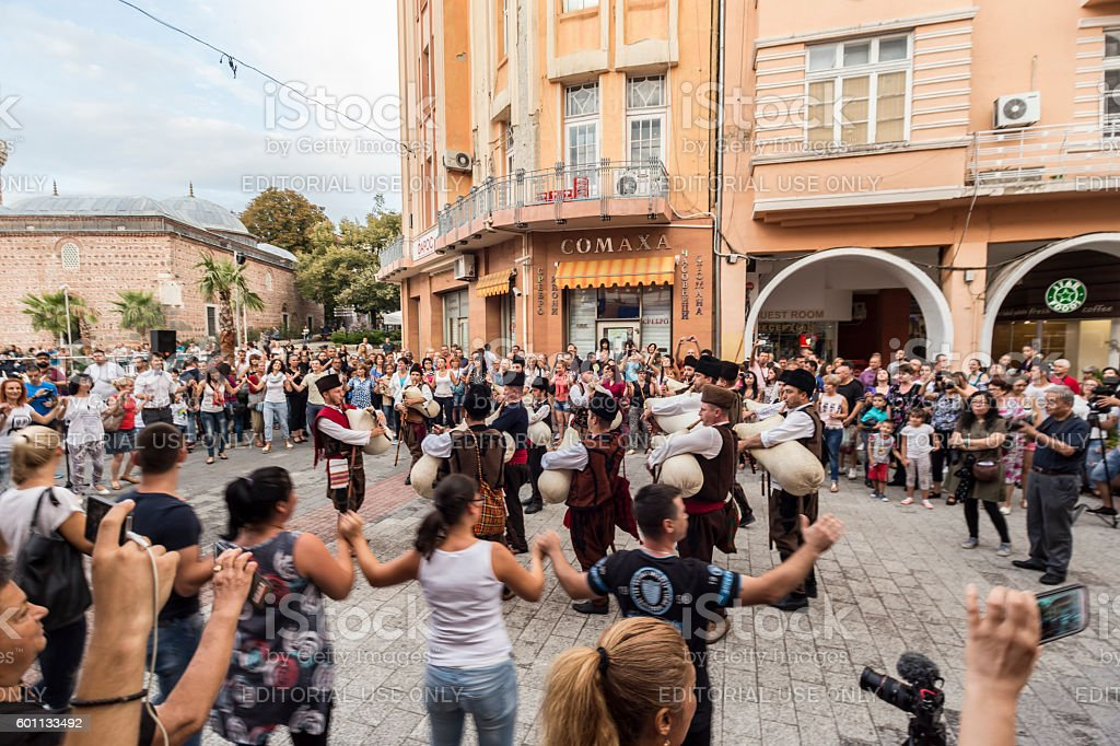 First drone festival in Plovdiv, Bulgaria stock photo