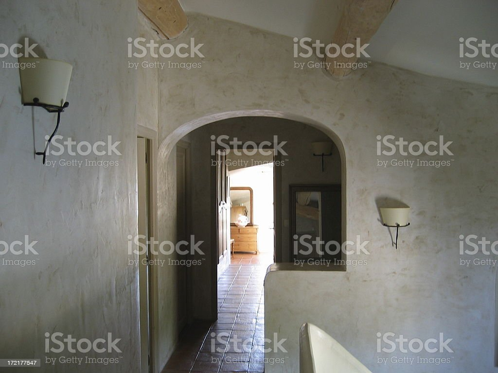 First floor stock photo