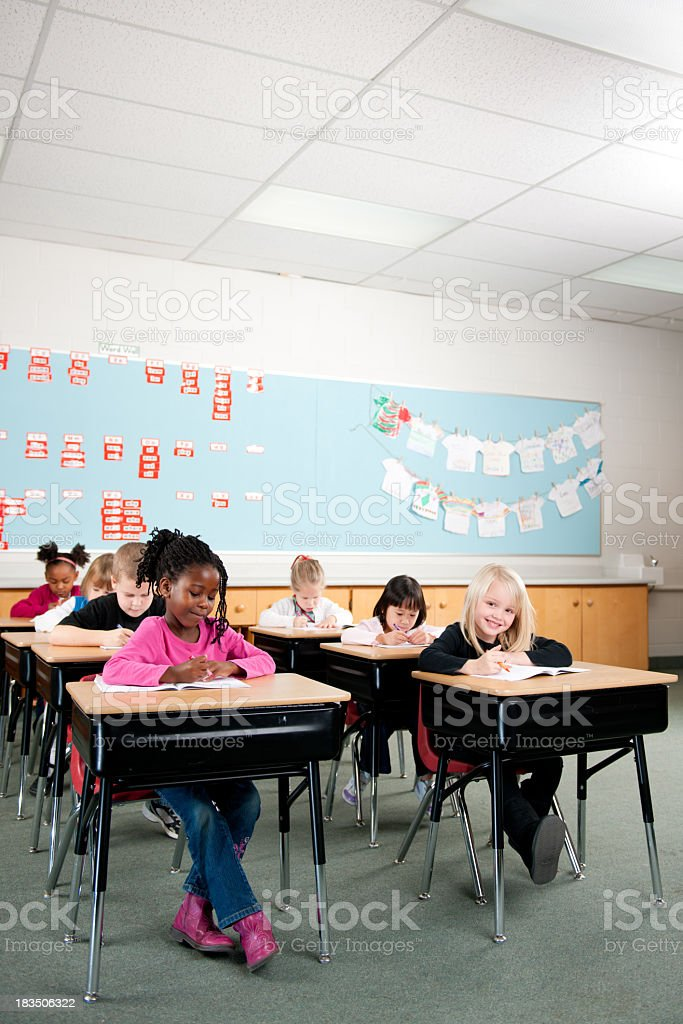 First grade stock photo
