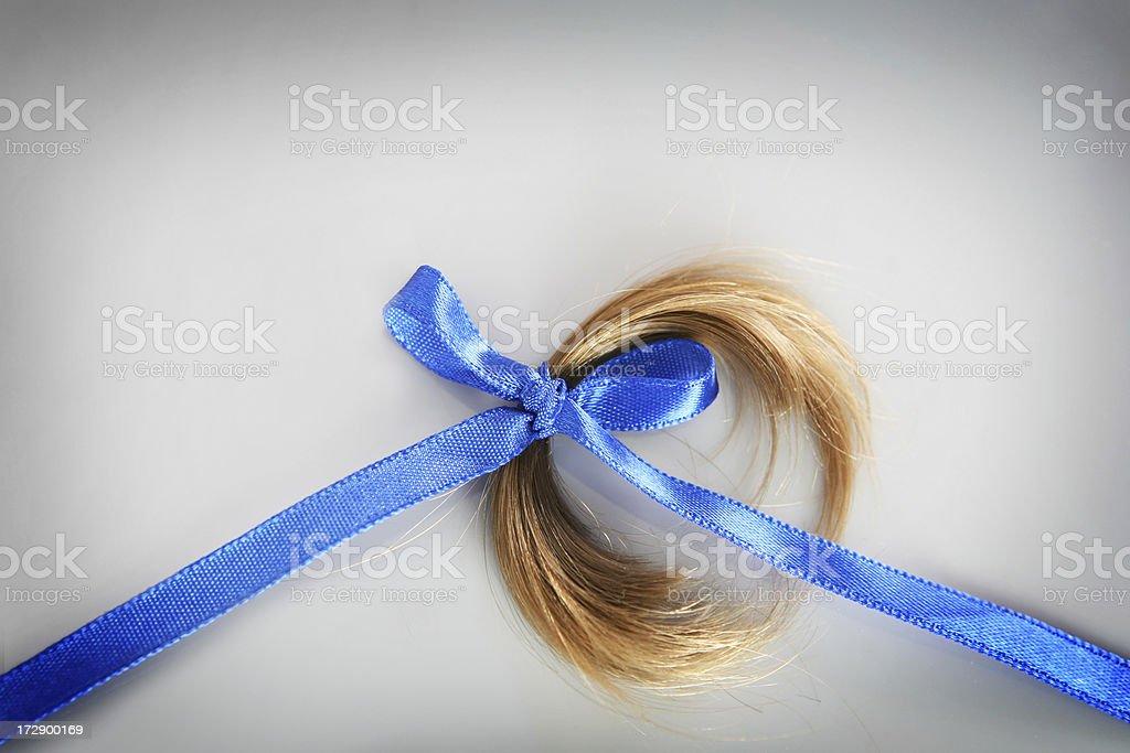 first hair cut stock photo