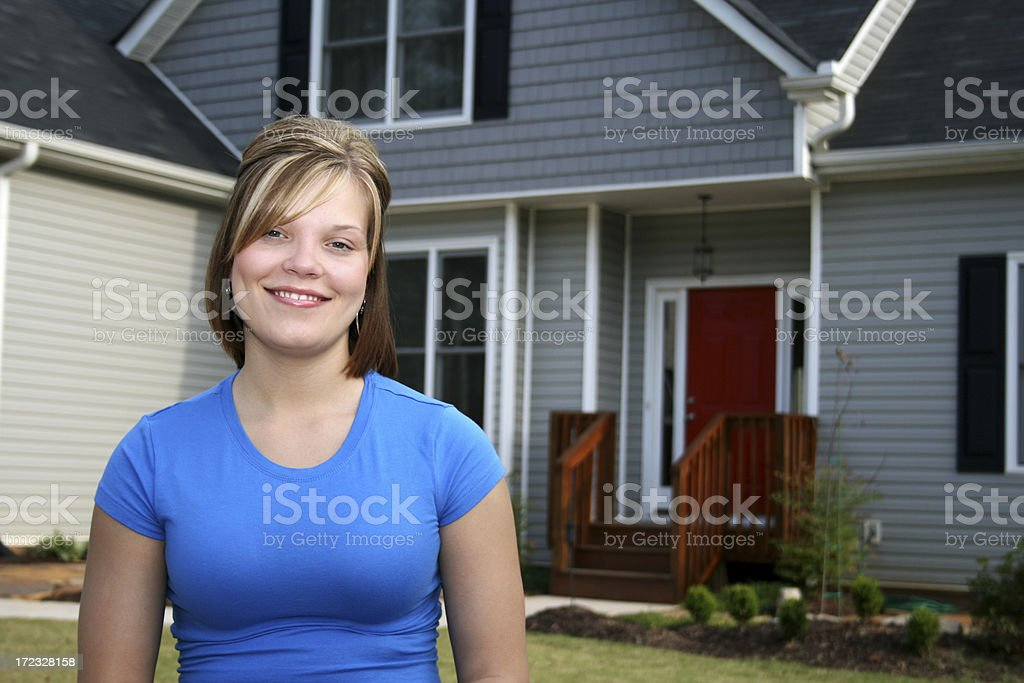 First Home royalty-free stock photo
