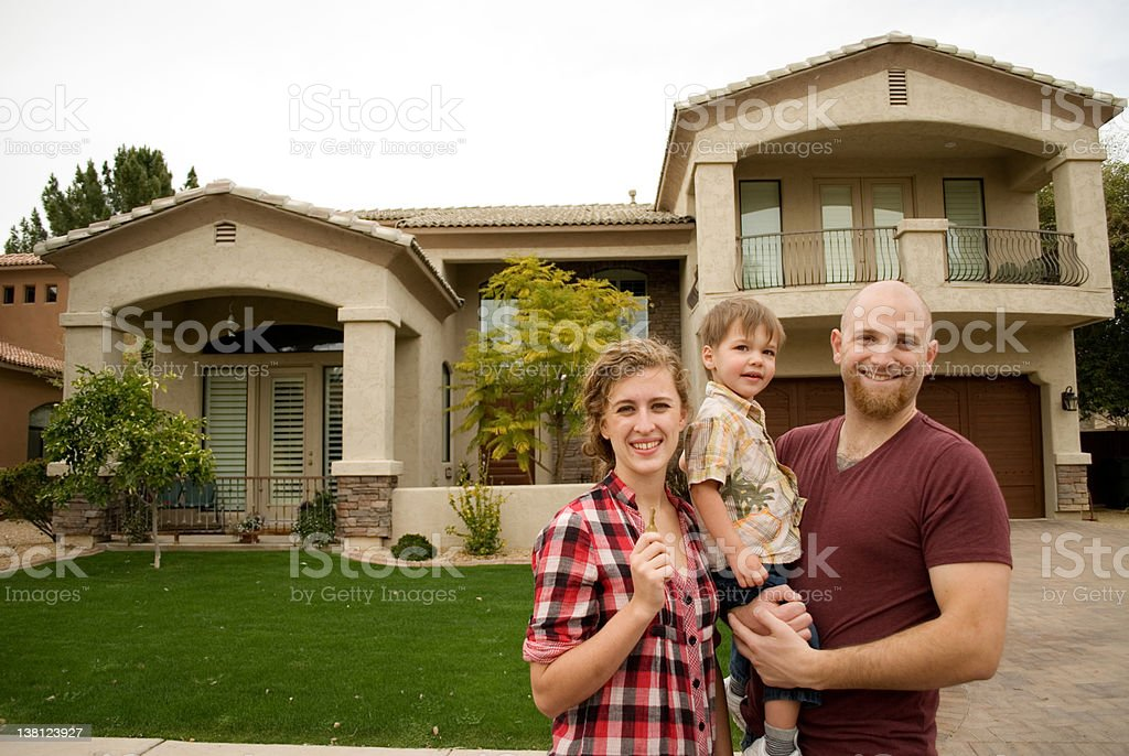 First House royalty-free stock photo