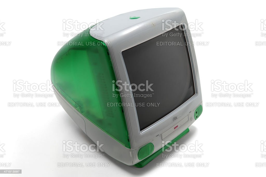 first imac 1998 royalty-free stock photo