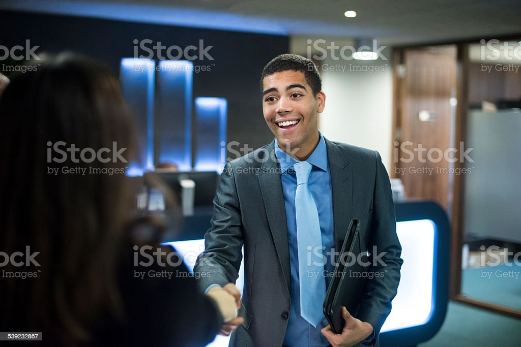 first impressions count stock photo