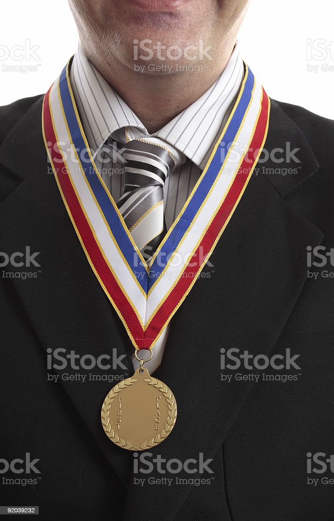 First in Business royalty-free stock photo