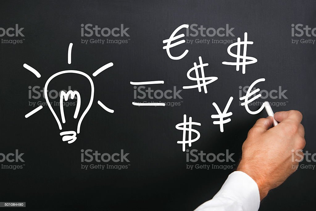 First lesson of good business stock photo