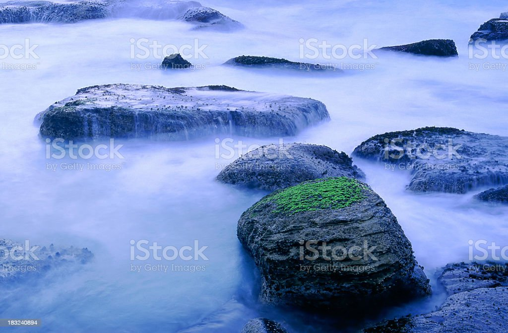 First light on the water. royalty-free stock photo