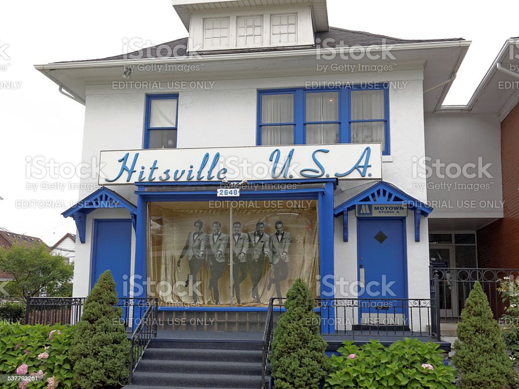 First Motown Headquarters stock photo
