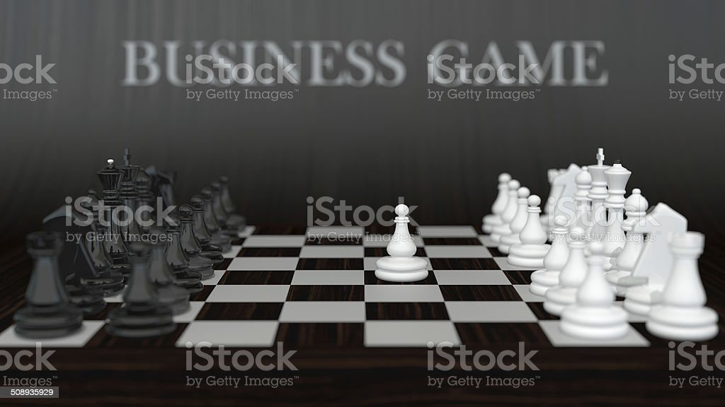 first move stock photo