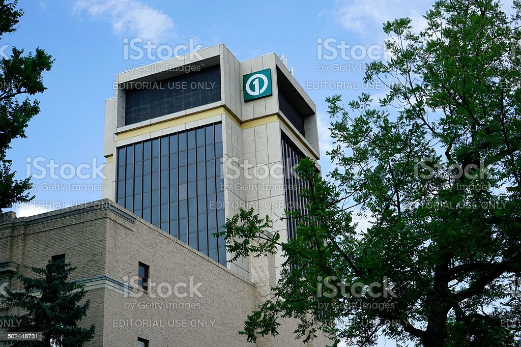 First National Bank in Fort Collins stock photo