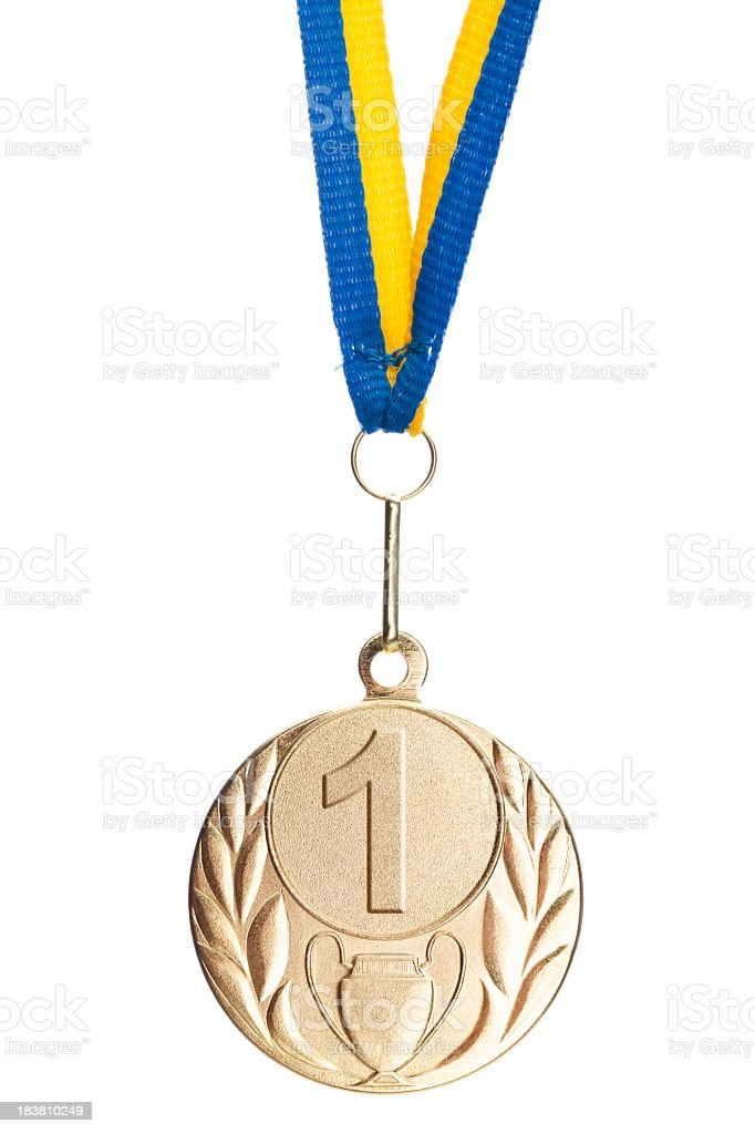 first place award royalty-free stock photo