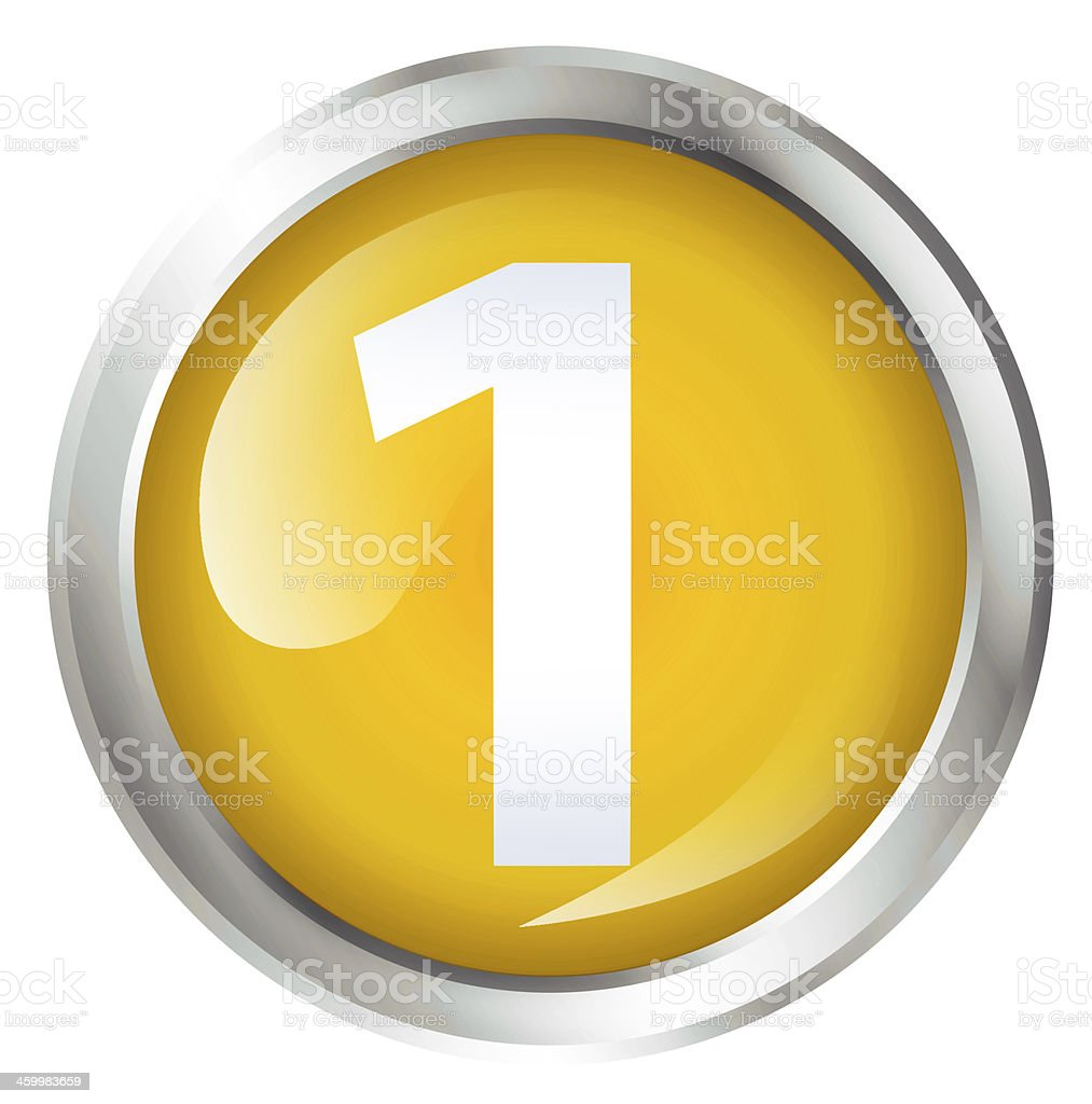 First place icon royalty-free stock photo