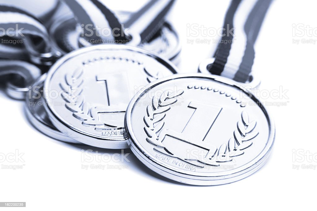 First place medal royalty-free stock photo
