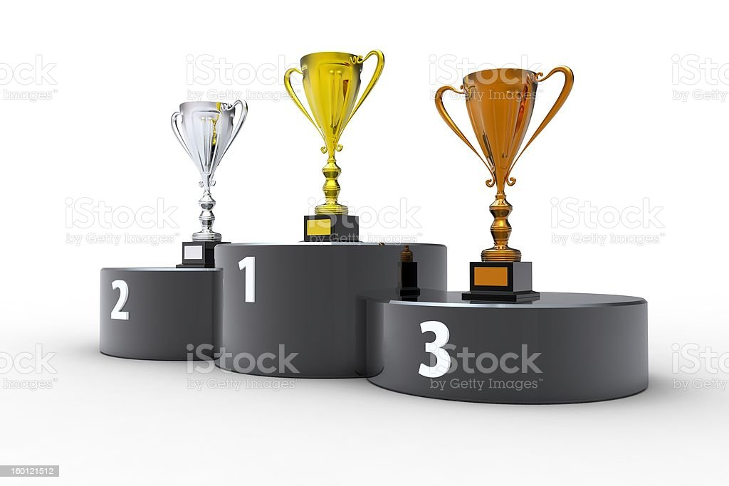 First place! royalty-free stock photo