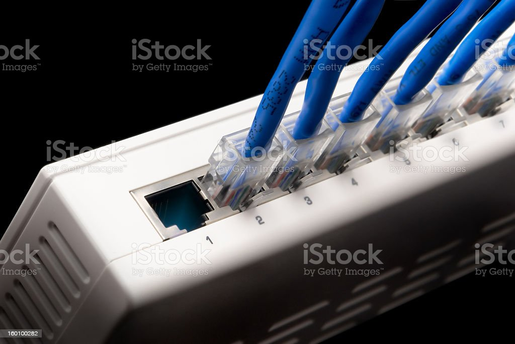 First plug is yours stock photo