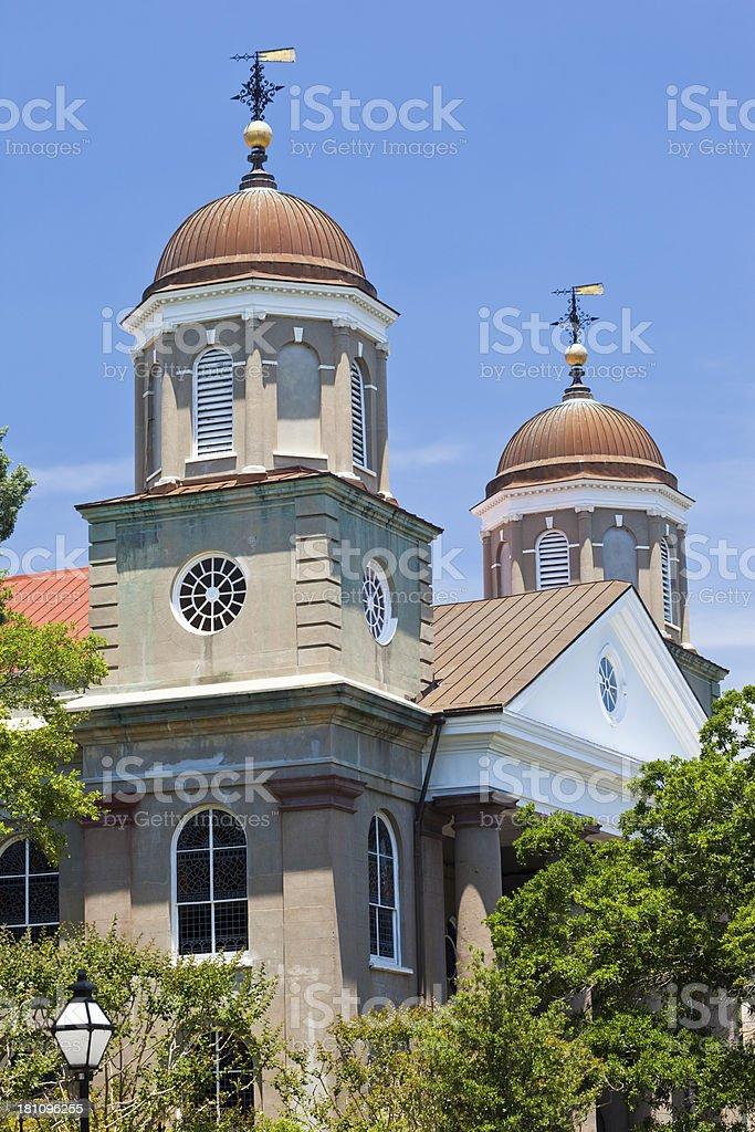 First Scots Presbyterian Church In Charleston, South Carolina royalty-free stock photo