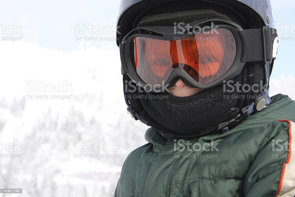 First Ski stock photo