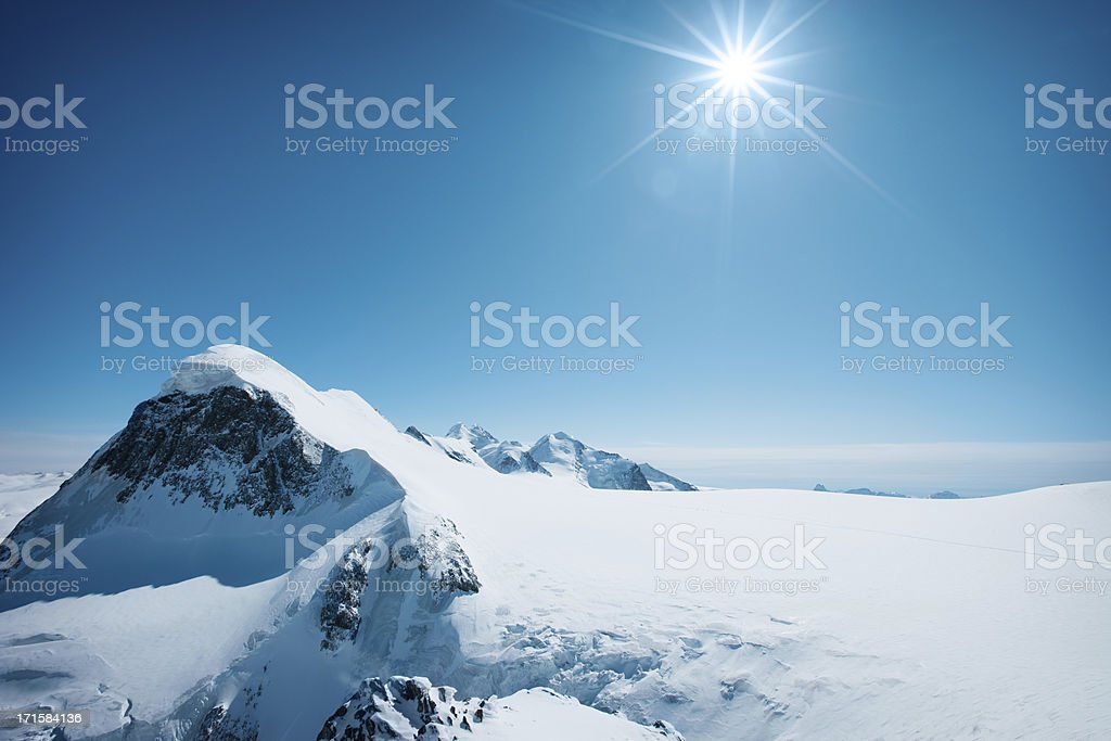 First snow stock photo