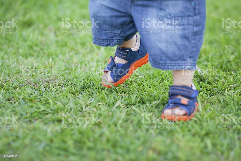 First Step royalty-free stock photo