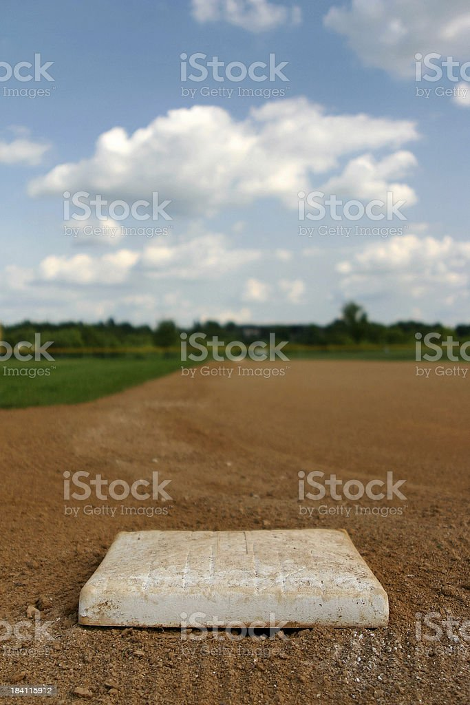 First to Second royalty-free stock photo