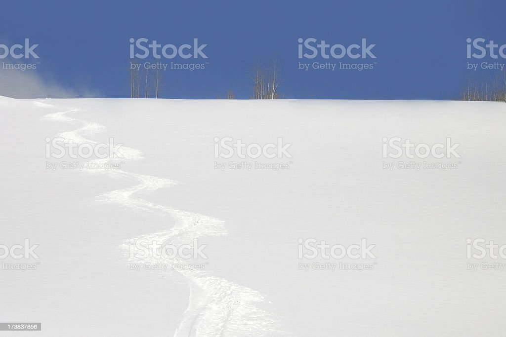 first track royalty-free stock photo