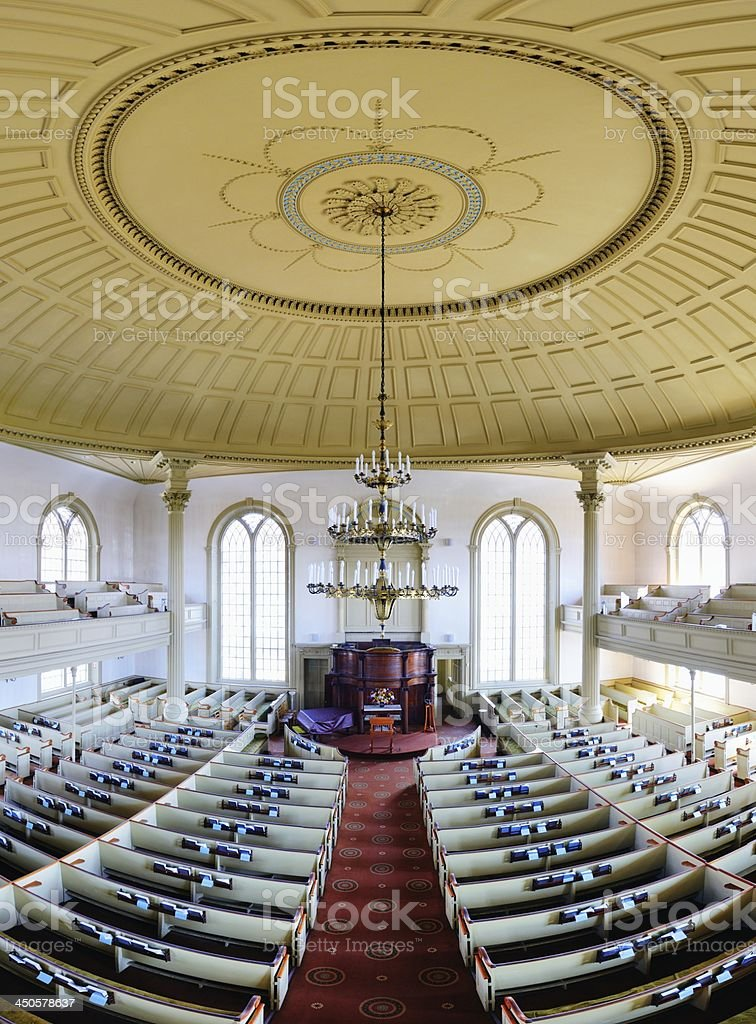 First Unitarian Church of Providence stock photo