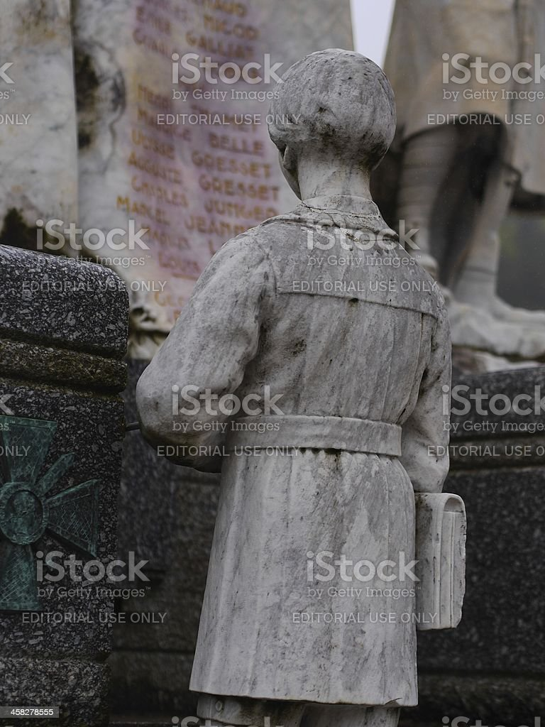 First World War memorial stock photo