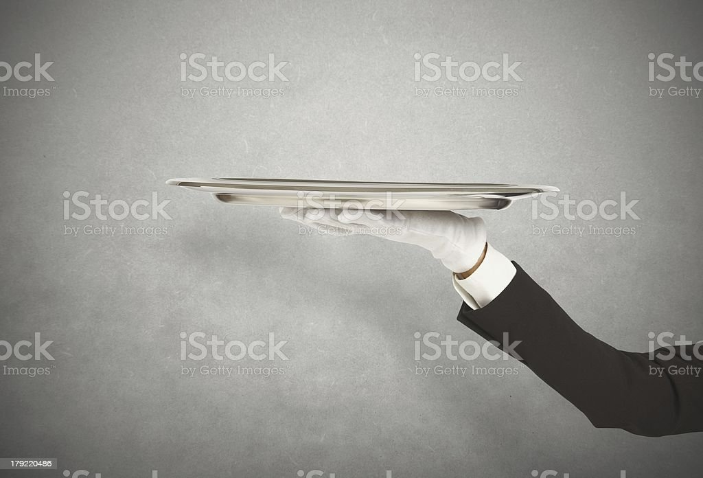 First-Class Service stock photo