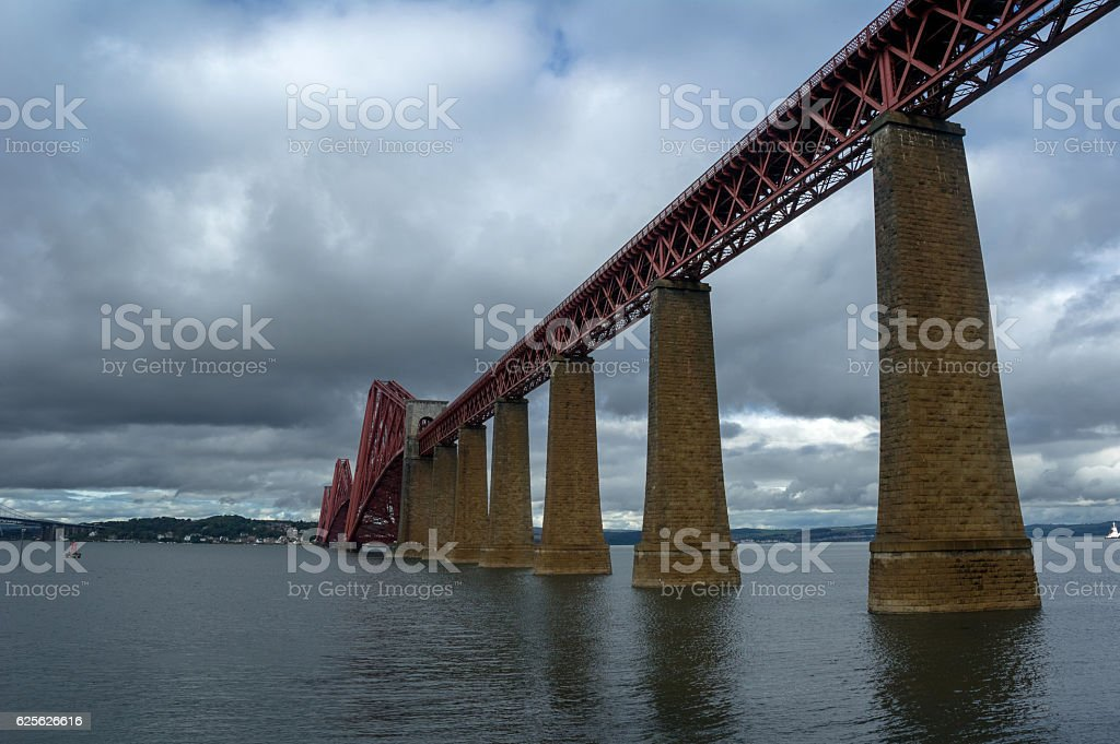 firth of forth stock photo