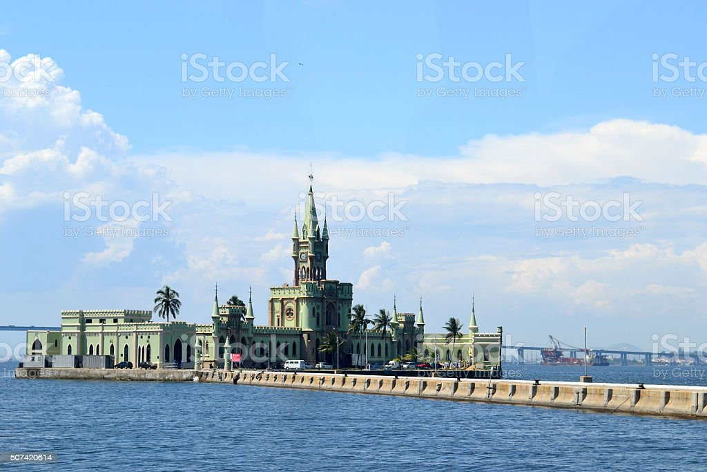 Fiscal island stock photo