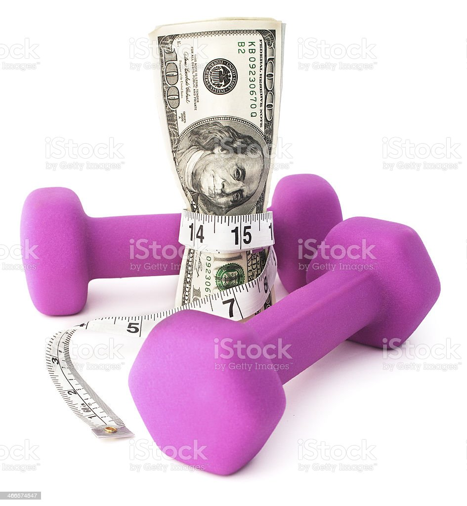 Fiscally Fit stock photo