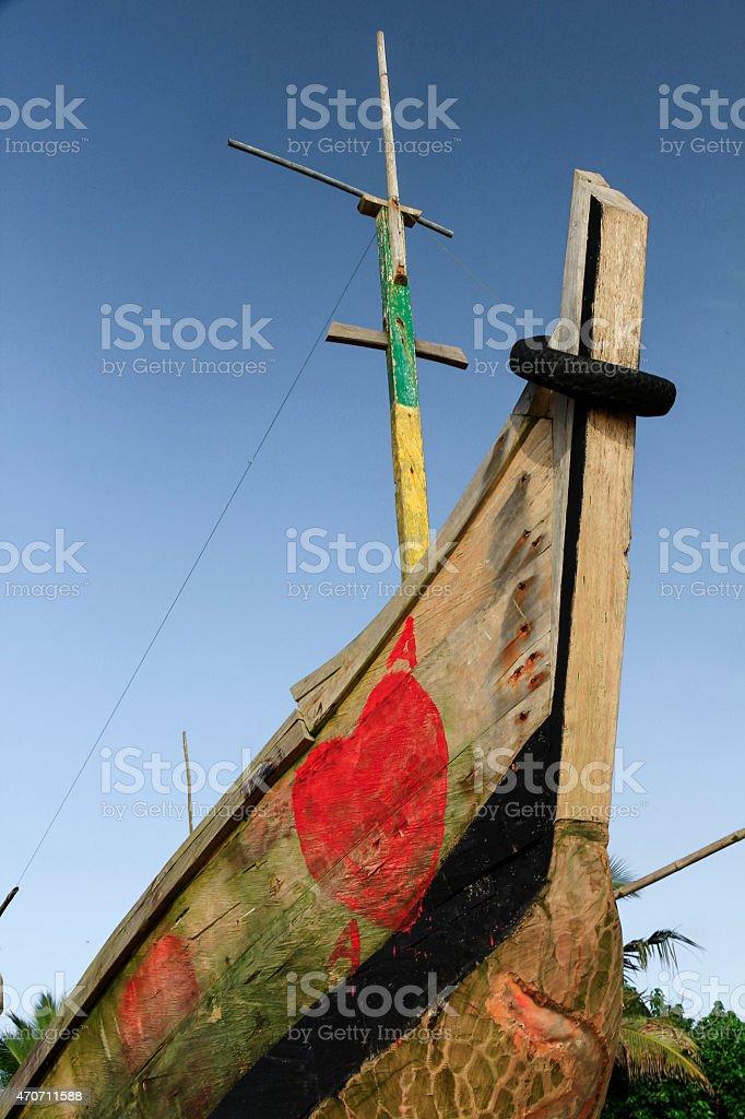 Fischerboot stock photo