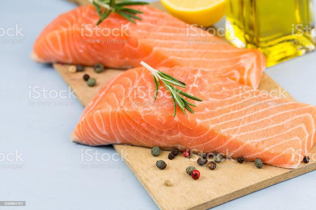 Fischfilet stock photo