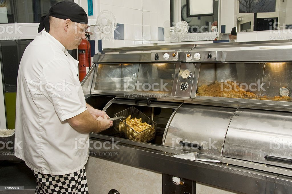 Fish and Chip Shop stock photo