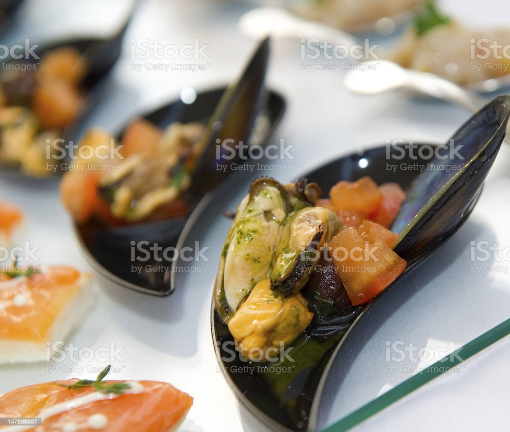 Fish appetizer royalty-free stock photo