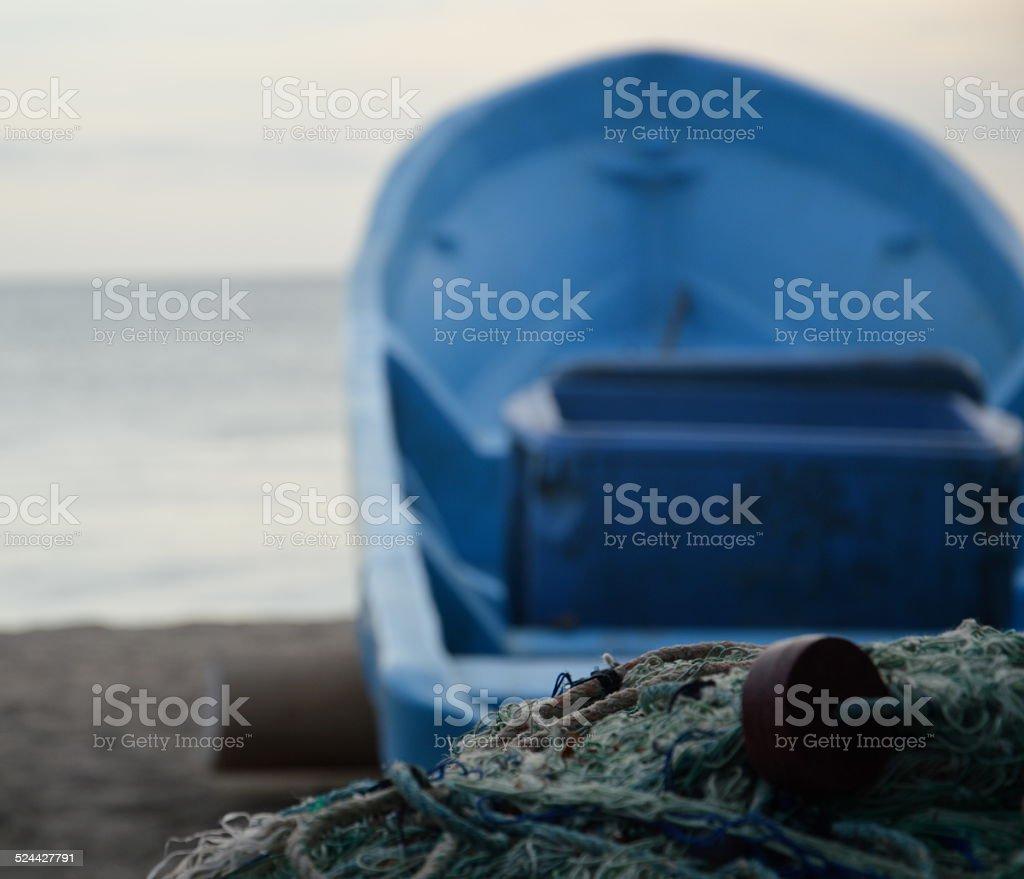 Fish Boat stock photo