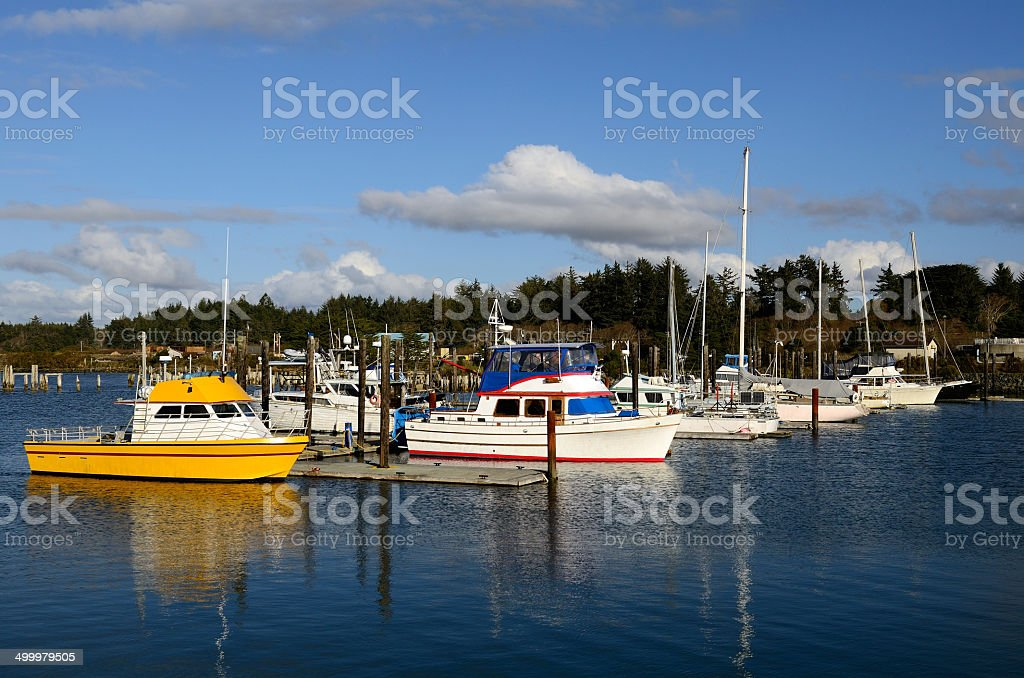Fish Boats stock photo