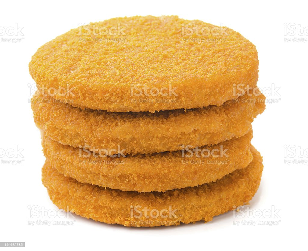 Fish burgers stock photo