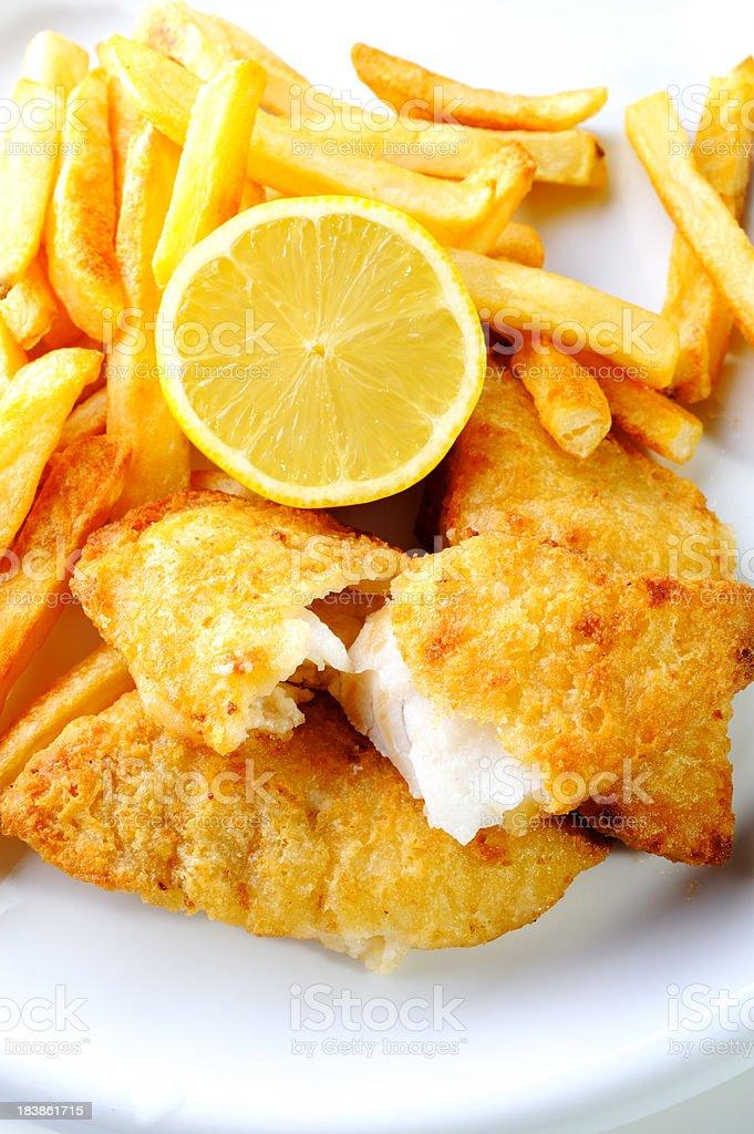Fish & Chip stock photo