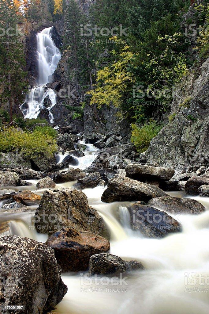 Fish Creek Falls stock photo