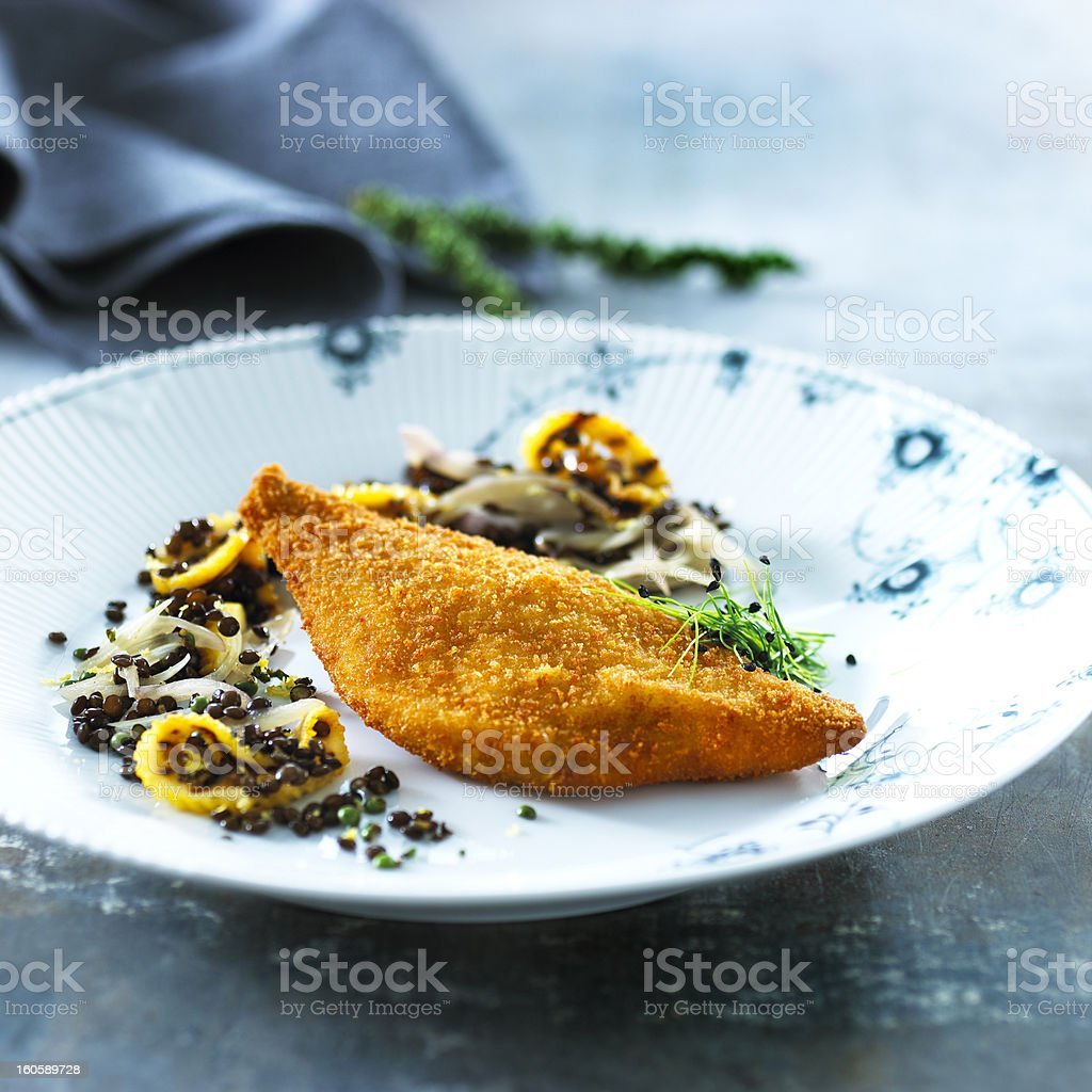fish filet royalty-free stock photo