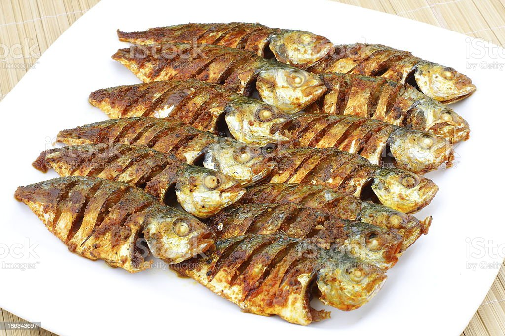 Fish fry royalty-free stock photo