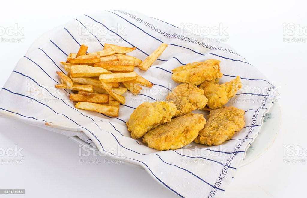 Fish Fry stock photo