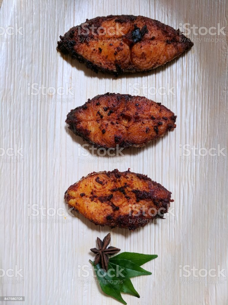 fish fry stock photo