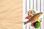 Fish, Grilled, Prepared Fish