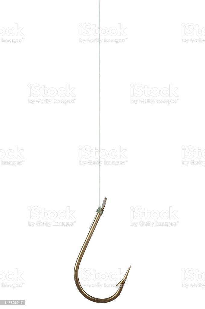 Fish Hook stock photo